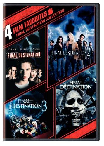 Four Film Favorites: Final Destination Collection (Final Destination / Final Destination 2 / Final Destination 3 / The Final Destination)