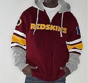 NFL Washington REDSKINS 1-on-1 Transition Fleece Jacket~2XL by G 111