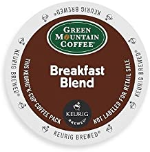 Green Mountain Coffee K-Cups, Breakfast Blend K-Cup Portion Pack for Keurig Brewers, 96-Count