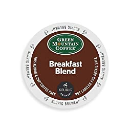 Green Mountain Coffee K-Cups, Breakfast Blend K-Cup Portion Count for Keurig Brewers 96-Count