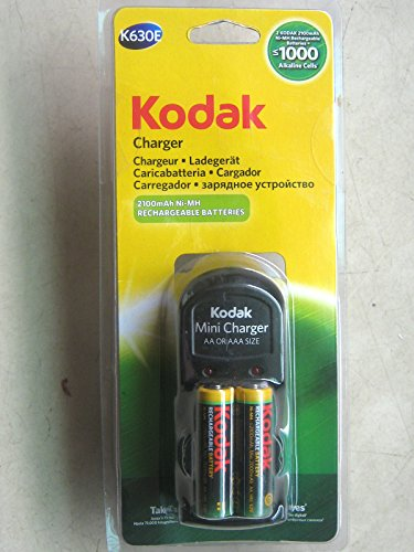 Kodak-K630E-Battery-Charger-(With-2-AA-Rechargeable-Batteris)