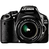 "Canon EOS 600D SLR-Digitalkamera (18 Megapixel, 7,6 cm (3 Zoll) schwenkbares Display, Full HD) Kit inkl. EF-S 18-55mm 1:3,5-5,6 IS IIvon ""Canon"""