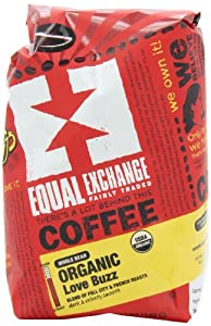 Equal Exchange Love Buzz Blend Organic Coffee Bean