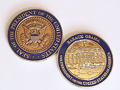 US 44th President Barak Obama, White House Challenge Coin