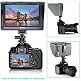 """Neewer® DC-70 Clip-on Portable 7"""" Color TFT LCD Monitor HDMI 1280x 800Pixels with Standard Shoe for DSLR Camera Camcorder"""
