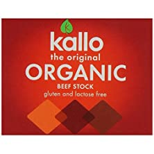 buy (12 Pack) - Kallo - Org Beef Stock Cubes | 66G | 12 Pack Bundle