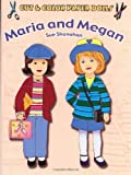 img - for Cut & Color Paper Dolls: Maria and Megan (Dover Paper Dolls) book / textbook / text book