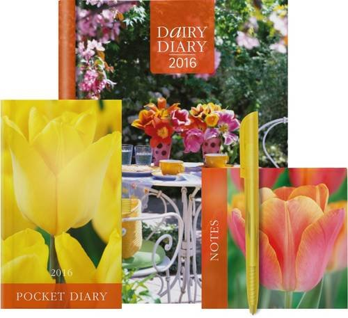 Dairy Diary Set 2016: Week-to-View A5 Kitchen & Home Diary with Pocket Diary & Notepad (Diaries 2016)