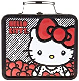 Hello Kitty Big Bow Lunch Box Travel Tote,Red,One Size