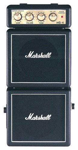 Marshall Mini Stack Series Ms-4 Not-So-Mini Practice Amplifier