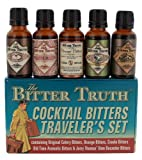 The Bitter Truth Traveler's Miniature Gift Set - contains 5 x 2cl miniatures