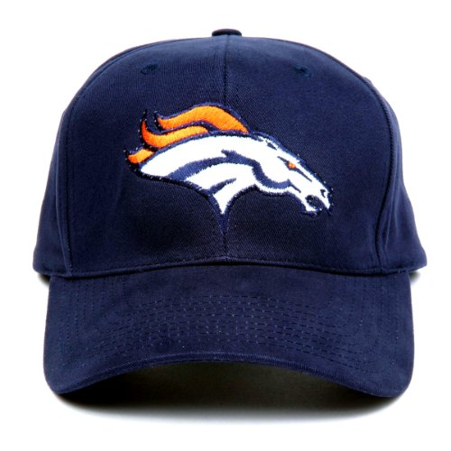 Nfl Denver Broncos Led Light-Up Logo Adjustable Hat