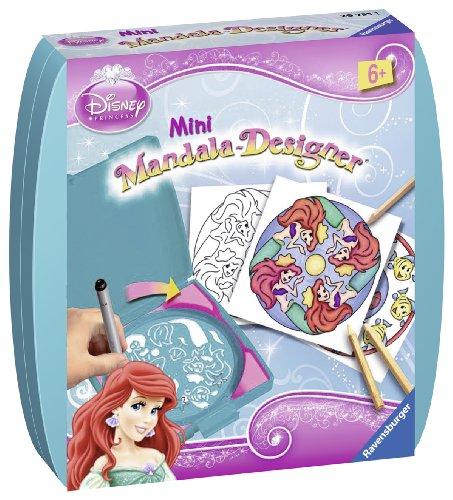 Ravensburger Disney Ariel - Juego de mandalas (tamaño pequeño)