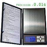 Balance Haute Précision taille XL - très précise : 0.01 g - max 500g