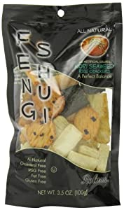 Feng Shui Nori Seaweed Rice Crackers, 3.5-Ounce (Pack of 12) by Roland