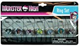 Monster High Day of the Week Pretend Play Ring Set