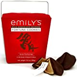 Emily's Chocolate Covered Love Fortune Cookies 3.5oz