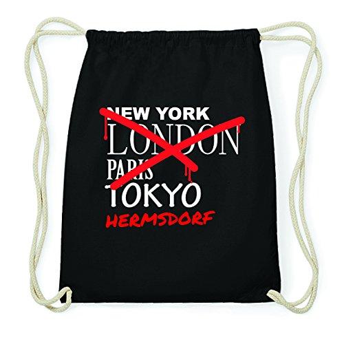 jollify-herms-village-hipster-bag-bag-made-of-cotton-colour-black-natural-design-grafitti