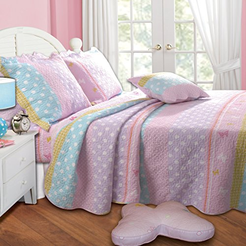 Butterfly Kids Bedding front-1043337