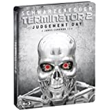 Terminator 2  - Edition collector Deluxe avec version cin�ma, version director's cut et version longue [Blu-ray]par Arnold Schwarzenegger
