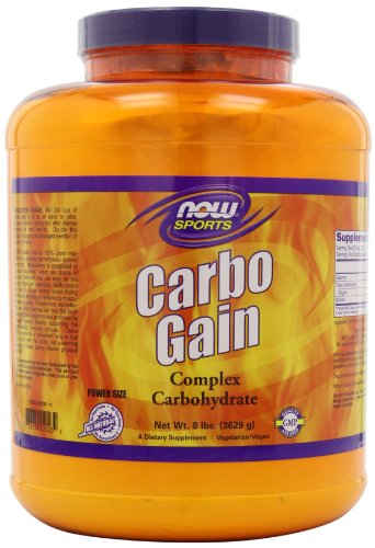 Now Foods NOW Foods Carbo Gain, 8 Pounds