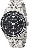 Emporio Armani AR5988 Sport Silver Chronograph Watch