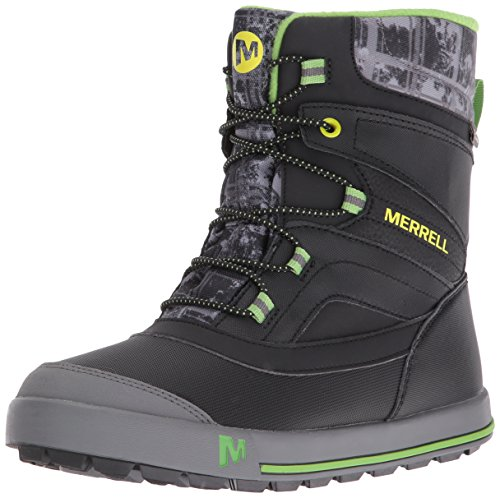 merrell-jungen-snow-bank-20-waterproof-trekking-wanderschuhe-schwarz-black-grey-green-35-eu