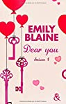 Dear You (actes 1 � 3): Saison 1 par Blaine