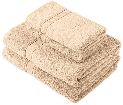 pinzon-by-amazon-juego-de-toallas-de-algodon-egipcio-2-toallas-de-bano-y-2-toallas-de-manos-color-be
