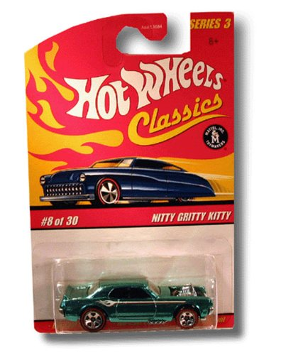 HOT WHEELS 2006 8 of 30 green NITTY GRITTY KITTY CLASSICS SERIES 3 1:64 SCALE DIE-CAST BODY/CHASSIS SPECIAL PAINT