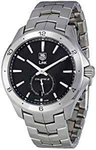 TAG Heuer Men's WAT2110.BA0950 Link Black Dial Watch from TAG Heuer