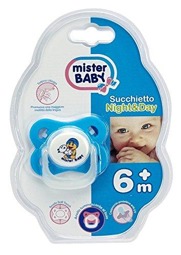 Mister Baby Succhietto Anatomico 6+, 694 gr