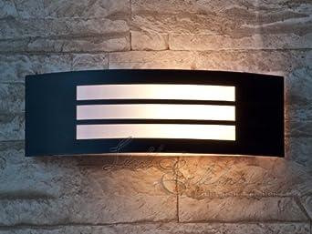 Applique moderne lampe murale extérieure semi circulaire luminaire