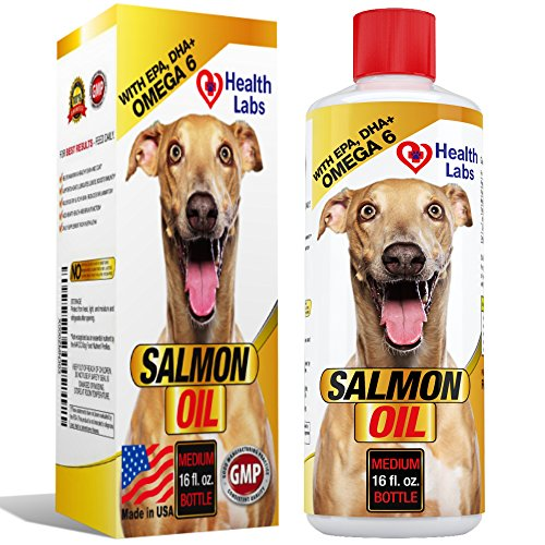 Omega 3 6 salmon oil liquid for dogs and cats 100 for Liquid fish oil for dogs