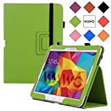 WAWO Samsung Galaxy Tab 4 10.1 Inch Tablet Smart Cover Creative Folio Case - Green