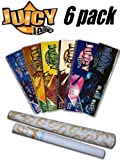 Juicy Jays Flavored Rolling Paper Variety Pack (6 Pack)