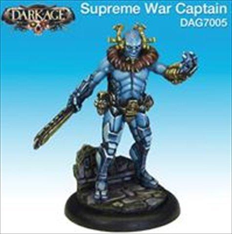 Dark Age Games 7005 Kukulkani War Captain 1 Miniature Games - 1