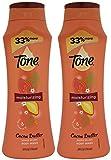 Tone Moisturizing Body Wash, Cocoa Butter Mango Splash, 24 Oz (Pack Of 2)