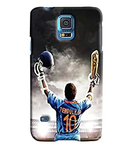 Clarks Printed Designer Back Cover For Samsung Galaxy S5