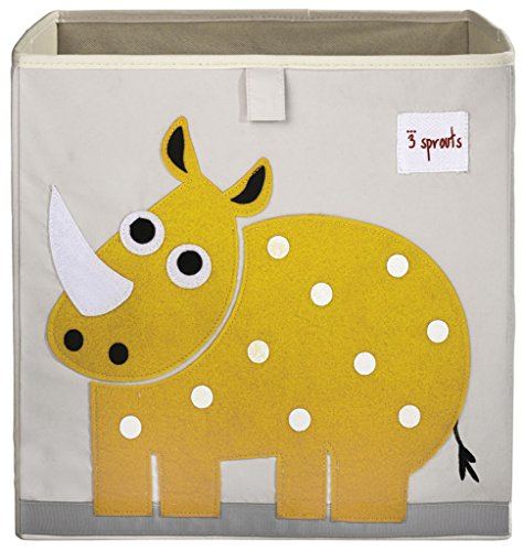 Buy Cheap 3 Sprouts Storage Box, Rhino, Yellow