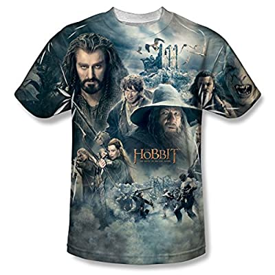 The Hobbit: Battle Of The Five Armies Epic Poster All Over Print Front T-Shirt