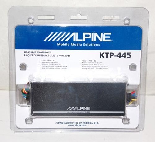 Alpine Ktp 445 Wiring Diagram Unit