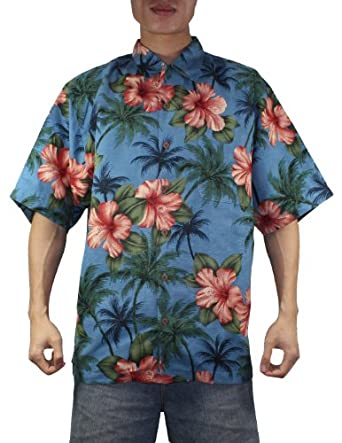 Tommy Bahama Mens Button Down Short Sleeve Silk Camp Shirt by Tommy Bahama