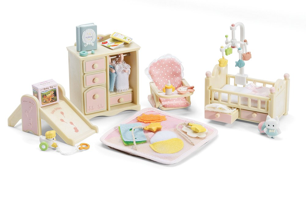 Calico Critters Baby S Nursery Set New Free Shipping
