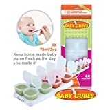 Petite Creations Baby Cubes Food Portioners (Stage 2)by Happy Mummy