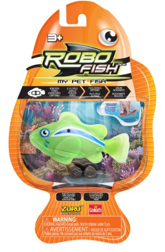 Goliath Robo Fish Reef Green Clown Fish Toy
