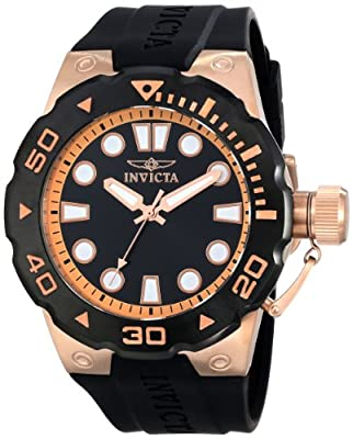 "Invicta Men's 16136SYB ""Pro Diver"" 18k Gold-Plated Watch"