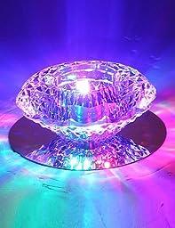 3W Energy Saving Modern LED Ceiling Light LED Crystal Ceiling Light Down light bulb Lamp , 110-120v-cool white