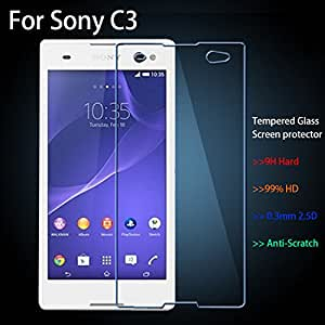 Sony Xperia C3 Dual Premium Tempered Glass Screen Protector