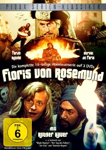 Floris von Rosemund - Die komplette 19-teilige Abenteuerserie mit Rutger Hauer (Pidax Serien-Klassiker) [3 DVDs]
